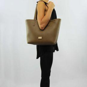 Shopping bag, reversible, Liu Jo narcissus root ochre