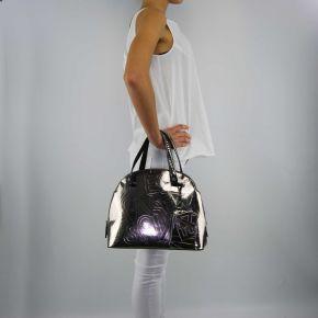 Tasche shopping spiegel Versace Jeans silber