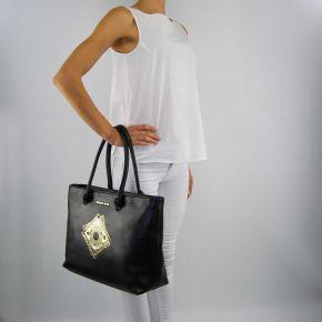 Tasche shopping Versace Jeans nappa schwarz