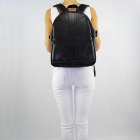 Rucksack handtasche Versace Jeans nappa logata schwarz