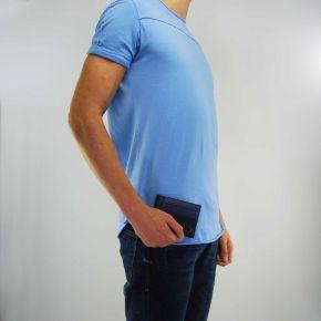 Portacarte Versace Jeans saffiano e pelle