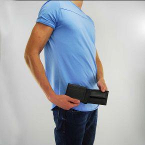 Portafogli Versace Jeans nappa basic nero