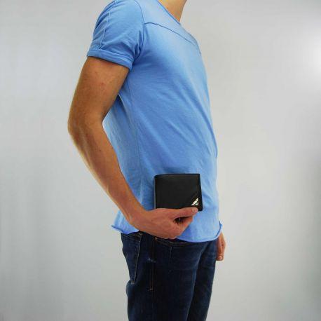 Portafogli Versace Jeans nappa nero