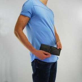 Wallet Versace Jeans nappa black