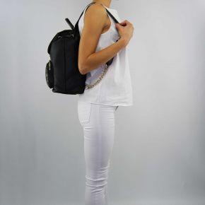 Rucksack handtasche Twin Set groß matt schwarz