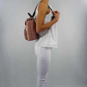 Rucksack handtasche Twin Set satin rosa nude