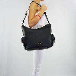 Bolso de hombro de Liu Jo beaulieu negro