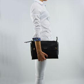 Borsa pochette Liu Jo con tracolla lavanda nera