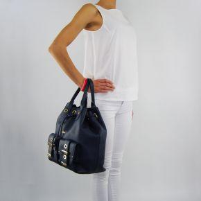 Bolsa de bolsa de balde Liu Jo beaulieu vestido azul