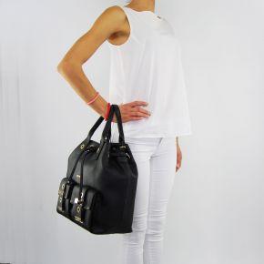Bolsa de bolsa de balde Liu Jo beaulieu negro