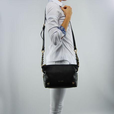Borsa tracollina Liu Jo s lavanda nera