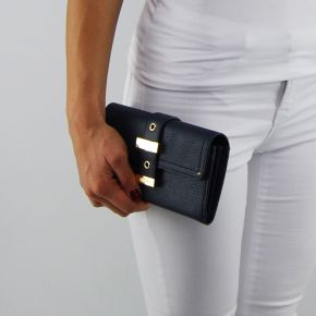 Wallet with flap-Liu Jo beaulieu dress blue