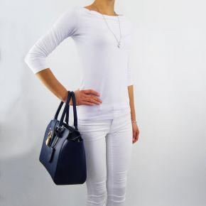 Bag duffle bag Patrizia Pepe dress blue