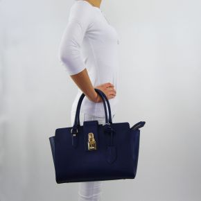 Borsa bauletto Patrizia Pepe dress blue