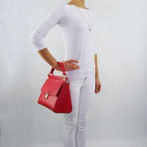 Sac de sport sac de Patrizia Pepe mat rouge