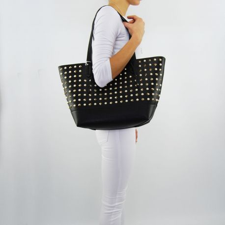 Shopping bag von Patrizia Pepe reversible new rock black