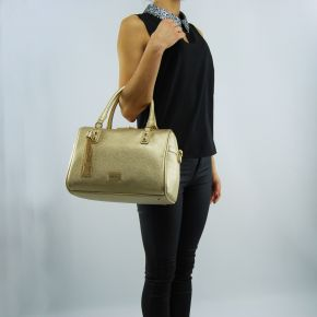 Borsa bauletto Liu Jo minorca light gold