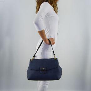 Bolsa de carpeta de Liu Jo grandes marsella furdenim vestido azul