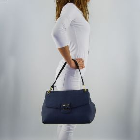 Borsa cartella Liu Jo grande marseille furdenim dress blue