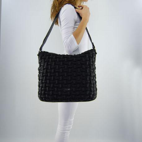 Tasche, tasche Liu Jo l ' angers crinkled schwarz