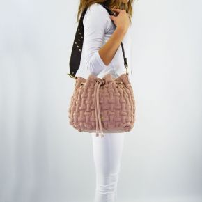 Bag bucket bag Liu Jo angers crinkled meg rose