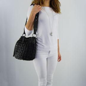Bag bucket bag Liu Jo angers crinkled black