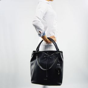 Bag bucket bag Liu Jo stern, night sky blue