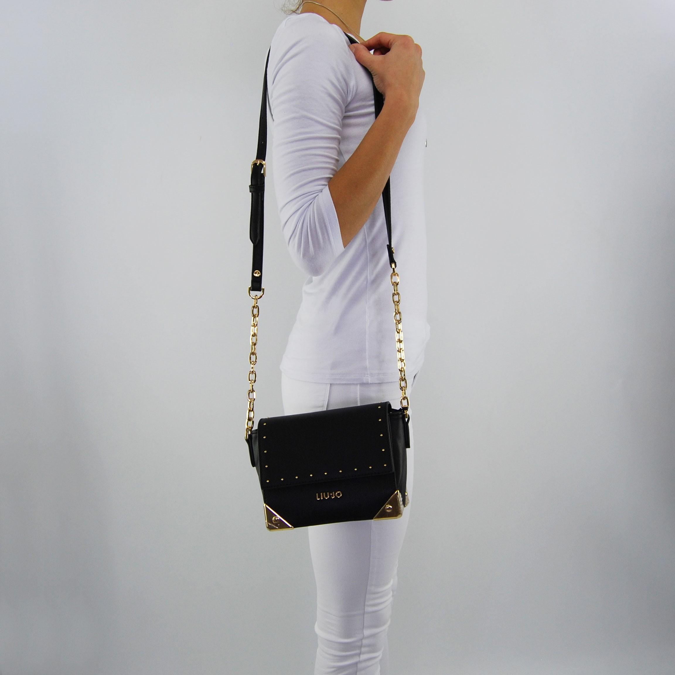 Shoulder bag Liu Jo's antibes black