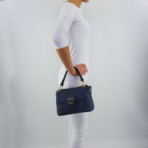 Bag folder Liu Jo small marseille furdenim dress blue
