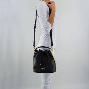Bolsa de sechiello Love Moschino negro