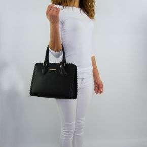 Shopping bag Love Moschino black