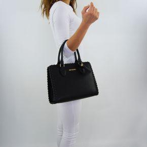 Einkaufstasche-Love Moschino-schwarze