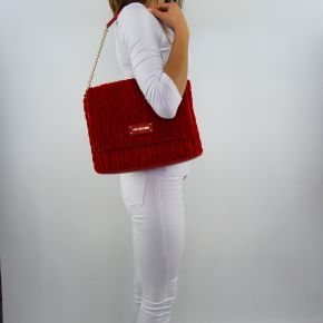 Shoulder bag Love Moschino red