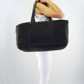 La bolsa de viaje monje negro