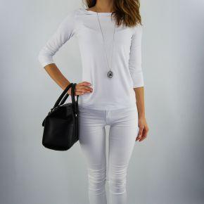 Tasche topcase Versace Jeans grana-cervo weich schwarz