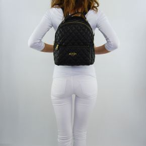 Backpack Love Moschino quilted black