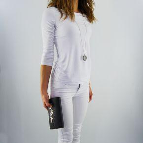 Portafoglio Love Moschino scritta logo argento nero