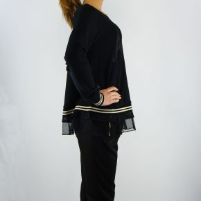 Sweatshirt geschlossen Liu Jo nashville schwarz