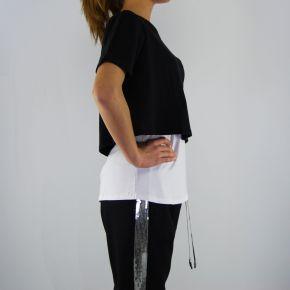 T shirt Liu Jo authentic schwarz weiß