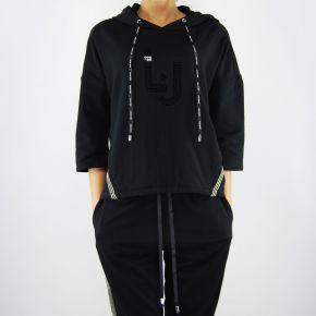 Sweatshirt geschlossen Liu Jo dayton schwarz