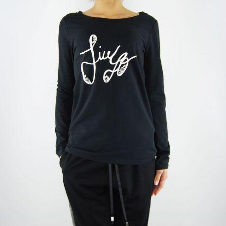 T shirt Liu Jo charlotte nera