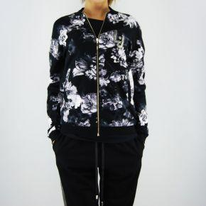 Felpa aperta Liu Jo aruba flower nera