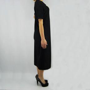 Vestido sudadera de Liu Jo miami negro lurex negro