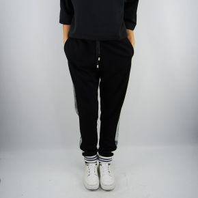 Pantalones de jersey Liu Jo charlotte negro