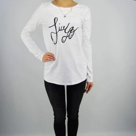 T shirt Liu Jo charlotte weiß