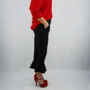 Pantalones de Everis lillo negro de pantalón corto