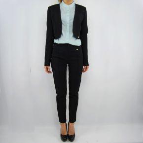 Pantalone Everis mafalda nero fascia in vita