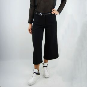 Pants everis mimosa black cropped pant