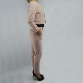 Pantalone Everis ondina cipria taglio maschile