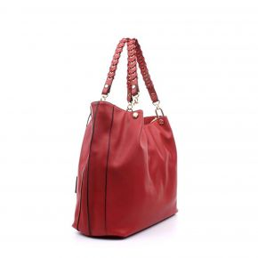 Shopping bag satchel Liu Jo cherry red